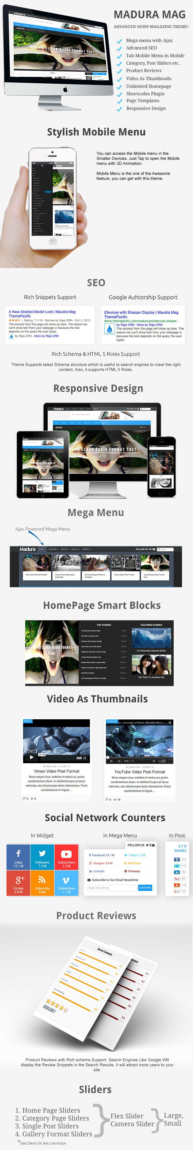 Madura Pro Fastest WordPress Theme