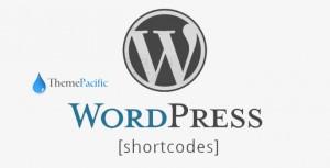 ThemePacific Shortcodes Pro