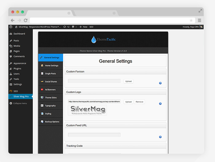 silvermag-options-Google-Chrome-Flat-Browser